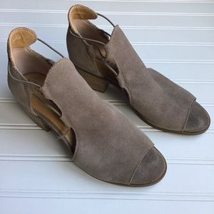 Lucky Brand Taupe Heels